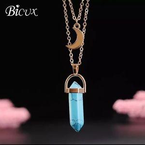 Jewelry - New BoHo Chakra pendulum necklace